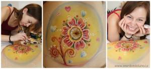 malování a